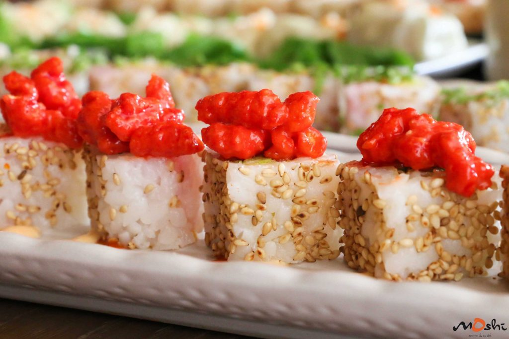 Moshi Sushi | The cheetos maki