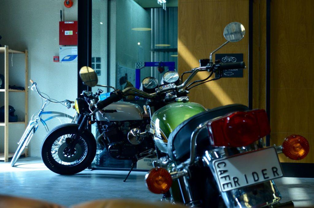 Cafe Rider bikes