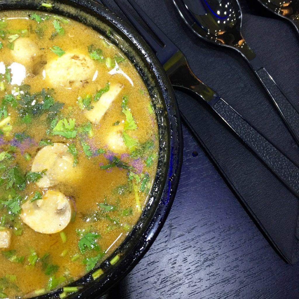 Prax's Dubai | Tom Yum Chicken Soup