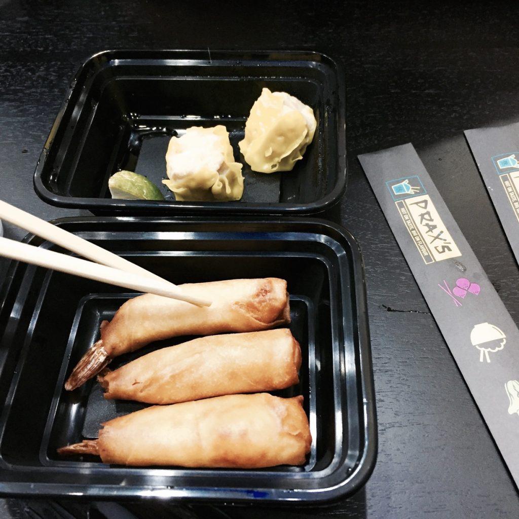 prawn spring rolls|Prax's