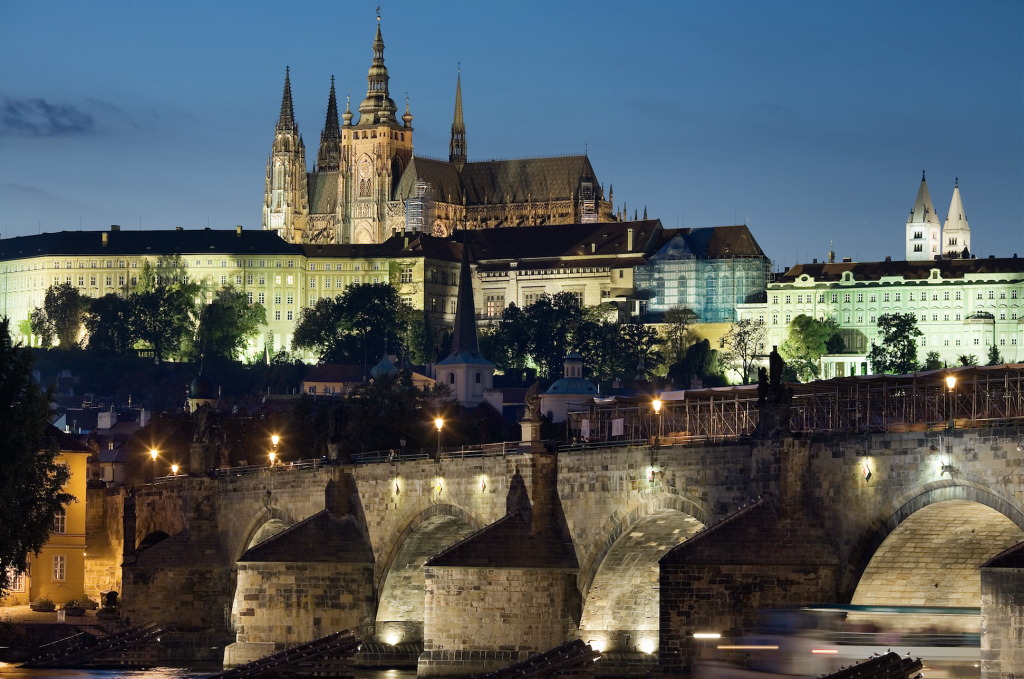 Prague Castle -Picture courtesy: Wikimedia