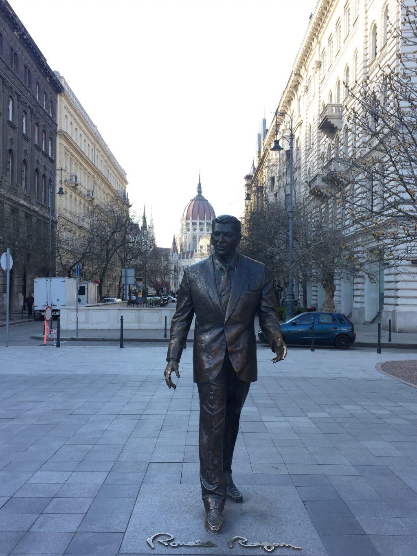 Budapest itinerary|Ronald Reagan