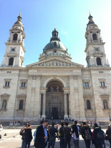 St Stephen's Basilica Budapest itinerary