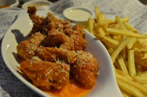 Garlic parmesan wings |Original Wings & RIngs DIFC