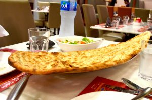 Naan at Barbecue Delights   Downtown Dubai