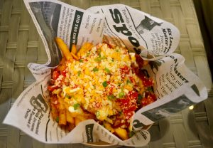Chilli cheese fries   Claw @LaPlaya