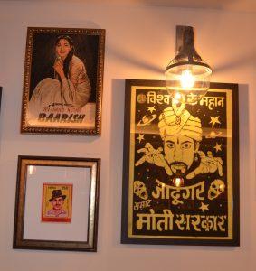 Moombai & Co |Dubai's licensed Parsi cafe|Decor and posters