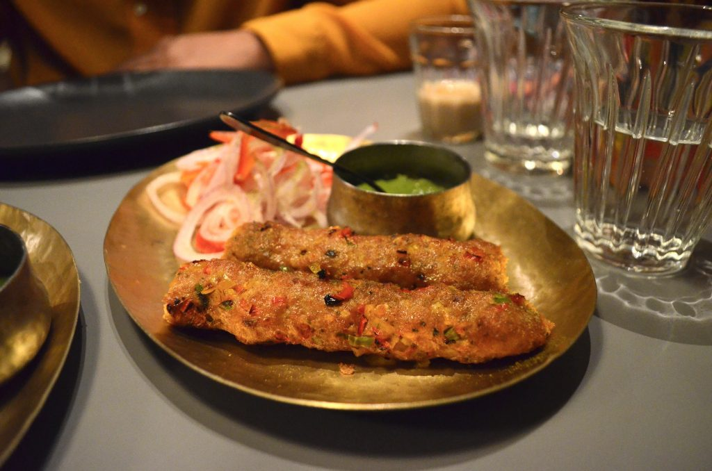 Moombai & Co |Dubai's licensed Parsi cafe|Lamb kebabs