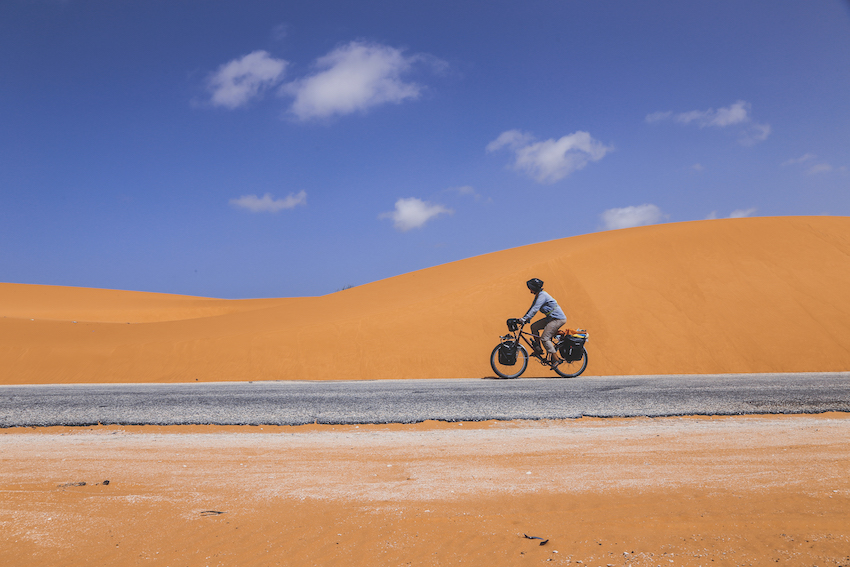 Sahara desert | How to tour the world by bike