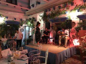 Free flamenco show in Cordoba, Andalusia, Spain