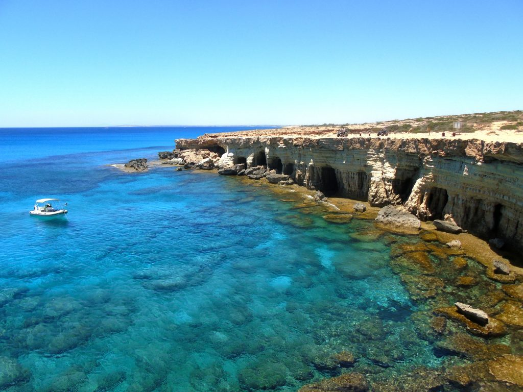 Top ten romantic island vacations | The turquoise waters of Southern Cyprus