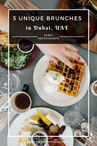 Unique brunches to try in Dubai