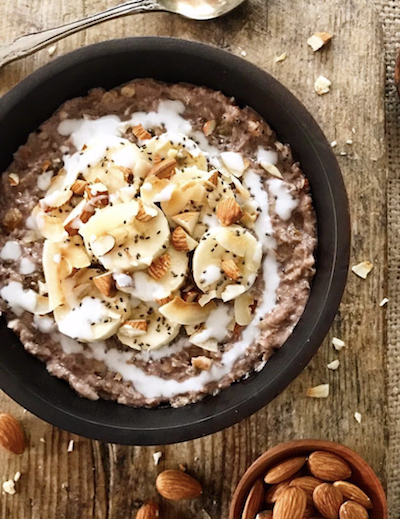 5 reasons to go paleo| Banana Nut Porridge