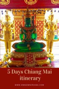 Chiang Mai itinerary pin