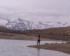 The gorgeous Dhankar Lake