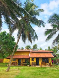 Our lovely homestay in Galle