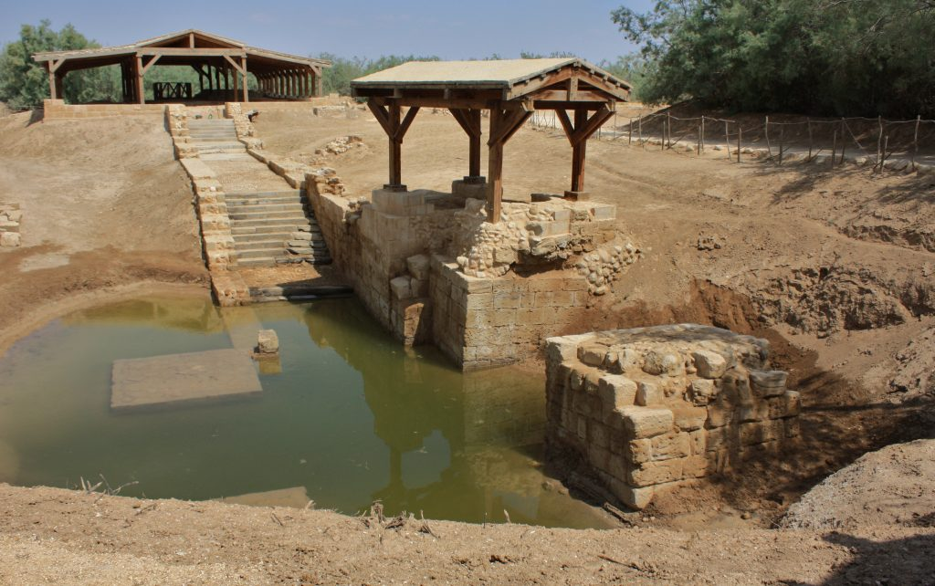 Jesus' baptism site on River Jordan| 10 day road trip itinerary to Jordan