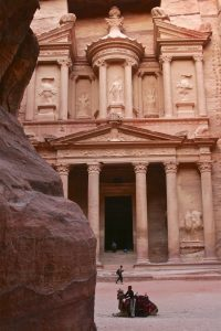 The popular Treasury at Petra
