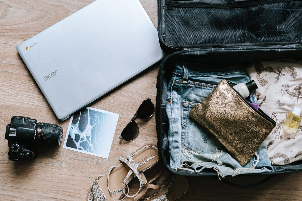 Plan the perfect road trip   Suitcase shot