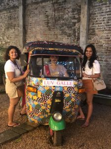 Out and about town in Galle Old Town