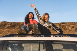Plan a road trip with a friend you love and trust