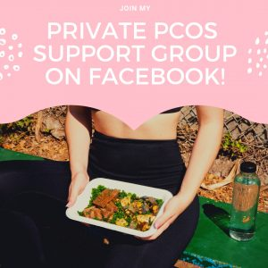 JOIN MY Private PCOS Support Group only on Om Nom Nirvana