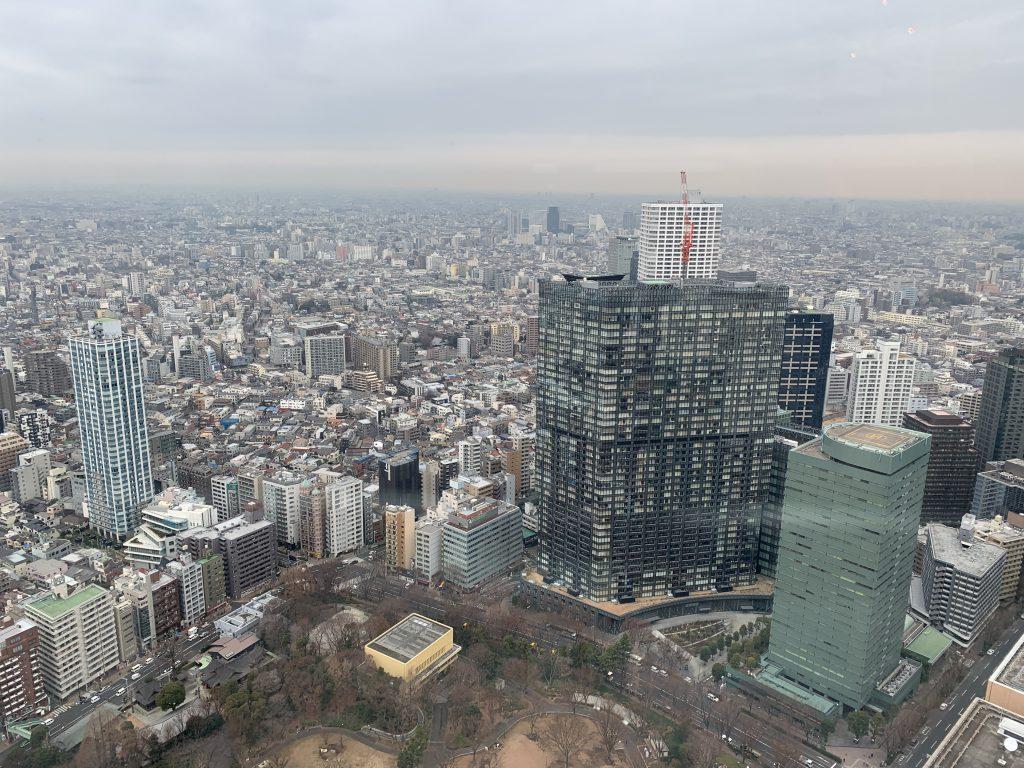 Tokyo 5 day itinerary - Tokyo Metropolitan building views