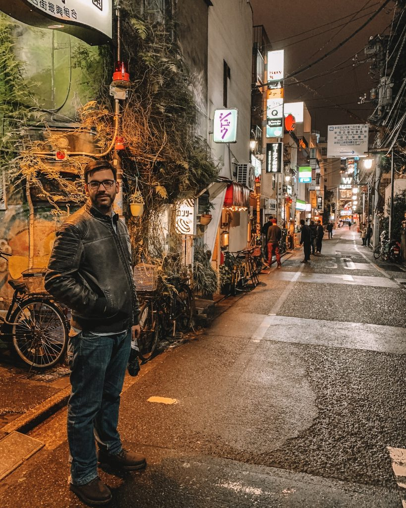 Golden Gai is home to over 200 bars!