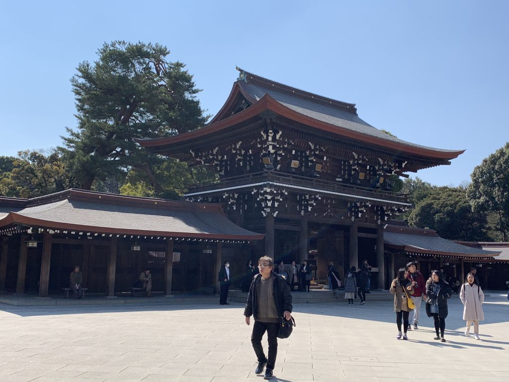 Beautiful Meiji Shrine
