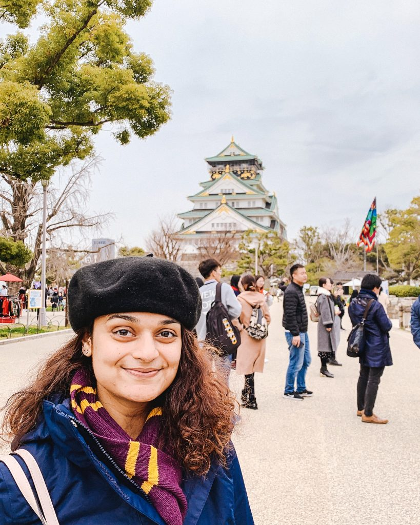 Stunning Osaka castle is much more modern on the inside! | Osaka 2 day travel itinerary