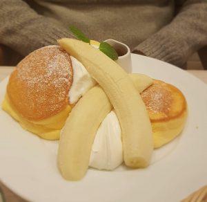 A Happy Pancake banana pancakes