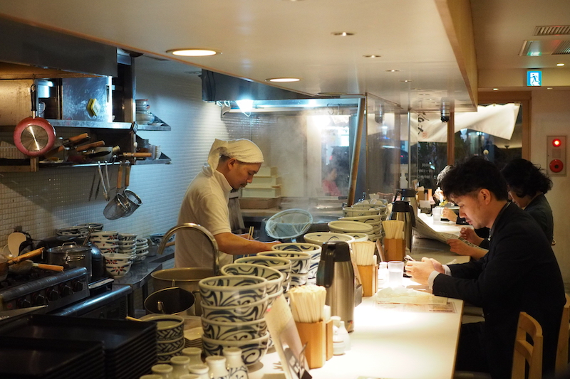 Udon from scratch at Taniya | Photo credit: The Social Travel Experiment