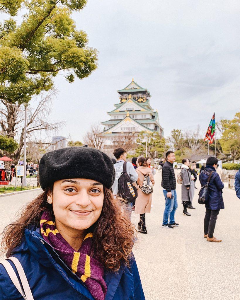 Stunning Osaka castle