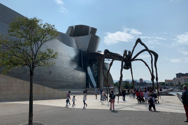 Guggenheim Bilbao with Maman | Basque country itinerary