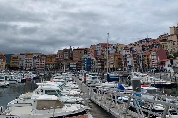 The beautiful port of Port Path, Bermeo