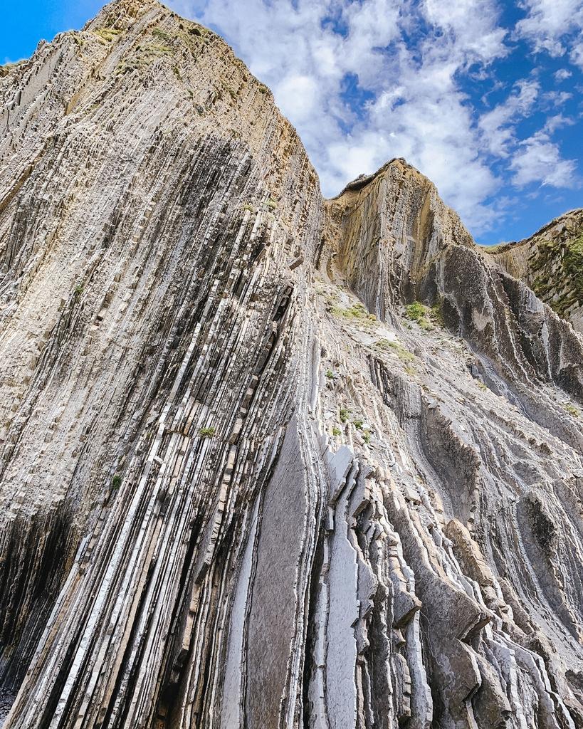 Flysch cliffs in Zumaia